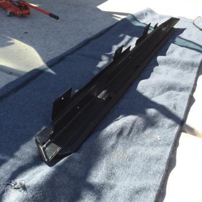 Tactical 4x4 rock sliders