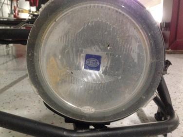Hella 4000 driving lights